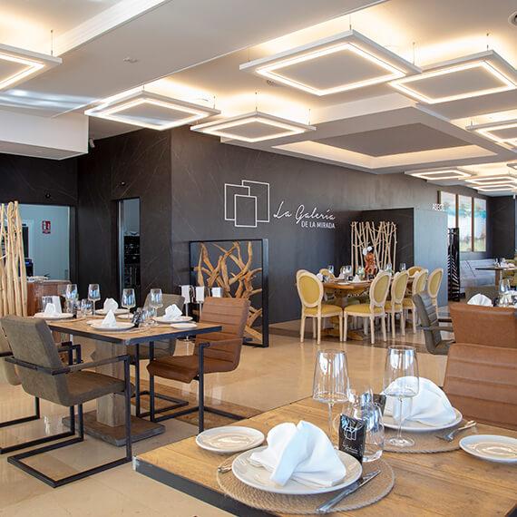 Salon Interior Restaurante La Galeria de La Mirada La Zenia Orihuela Costa