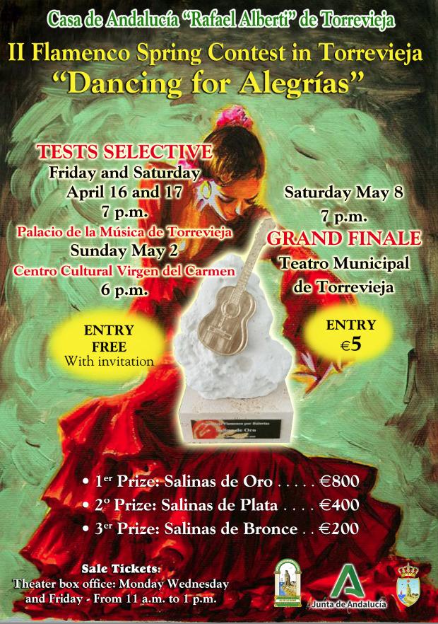 Flamenco Spring in Torrevieja