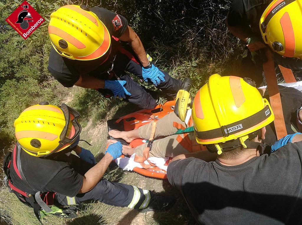 rescate bomberos punta prima orihuela costa 6