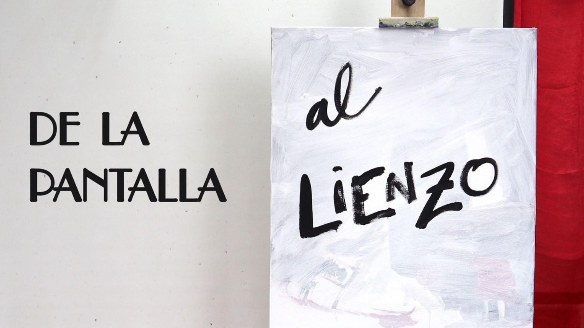 мастерская живописи с экрана на холст в Торревьехе