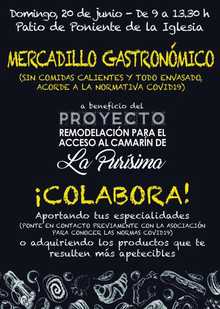 mercadillo gastronomico Torrevieja hijos de la inmaculada