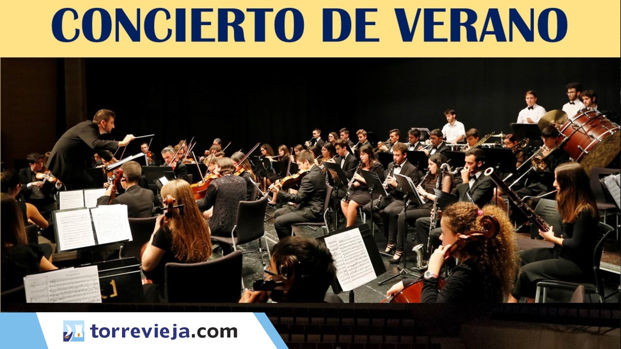 CONCIERTO DE VERANO - Joven Orquesta Sinfónica de Torrevieja