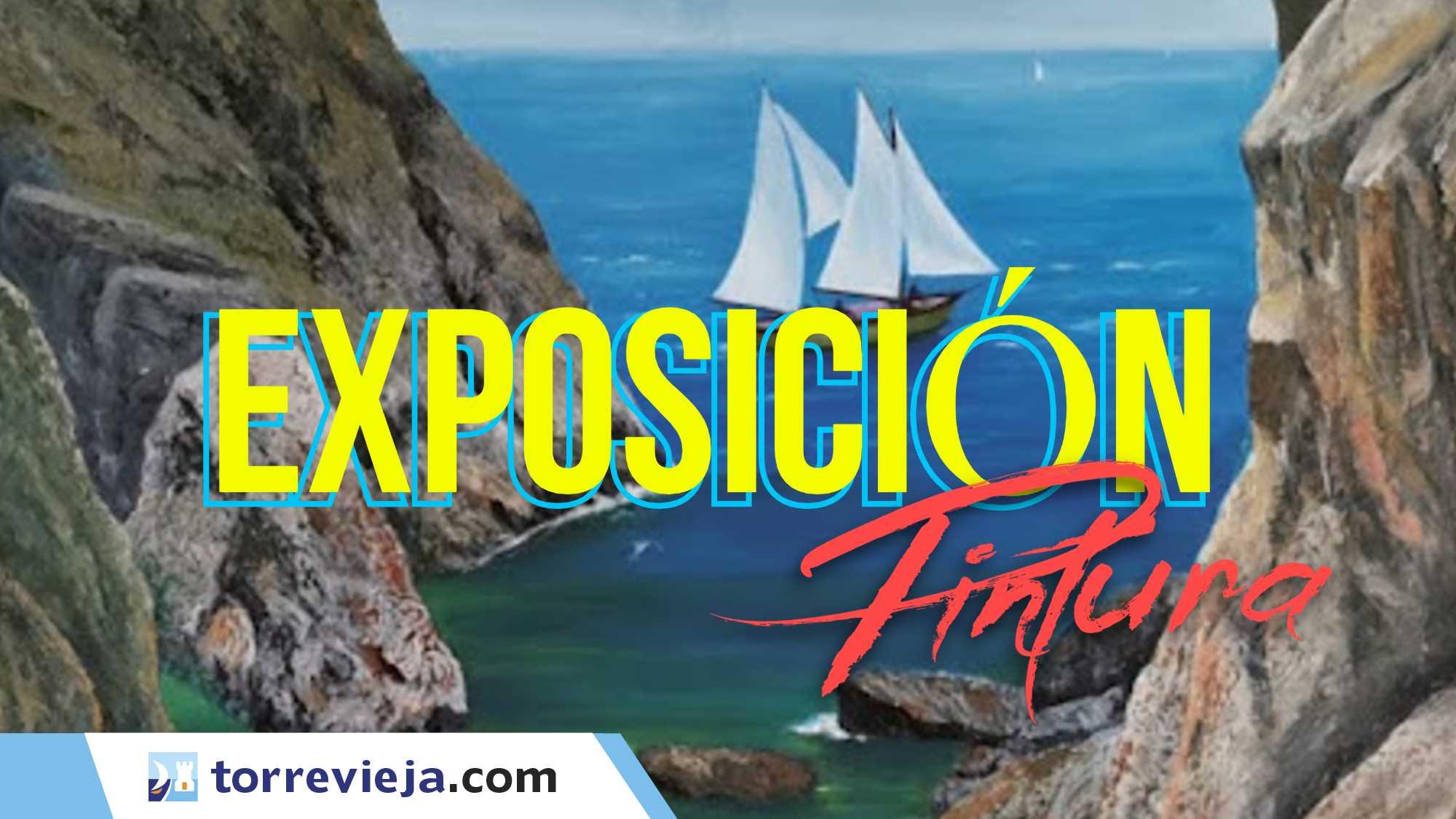 exposición Pintura Torreviejacom casino RAFAEL DEL SANTO HUERRES