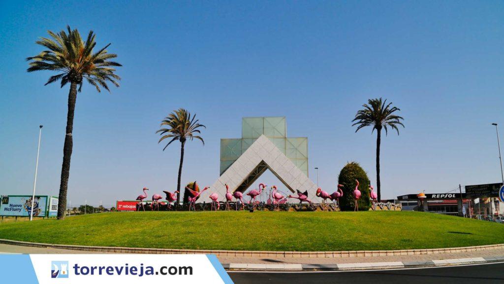 flamencos rotonda Torrevieja 3 (1)