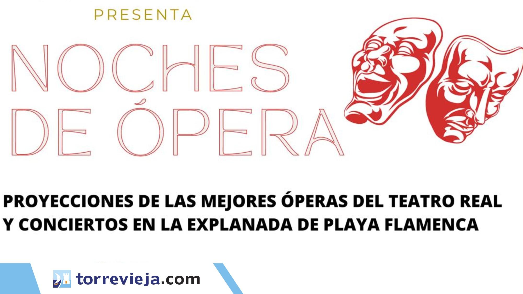 noches de opera playa flamenca conciertos orihuela costa torreviejacom1