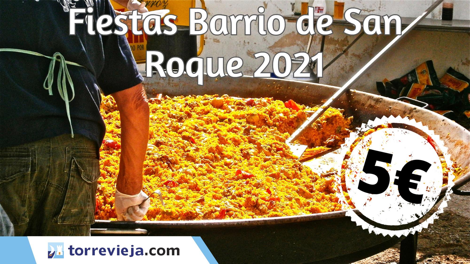 Fêtes quartier de San Roque Torrevieja 2021