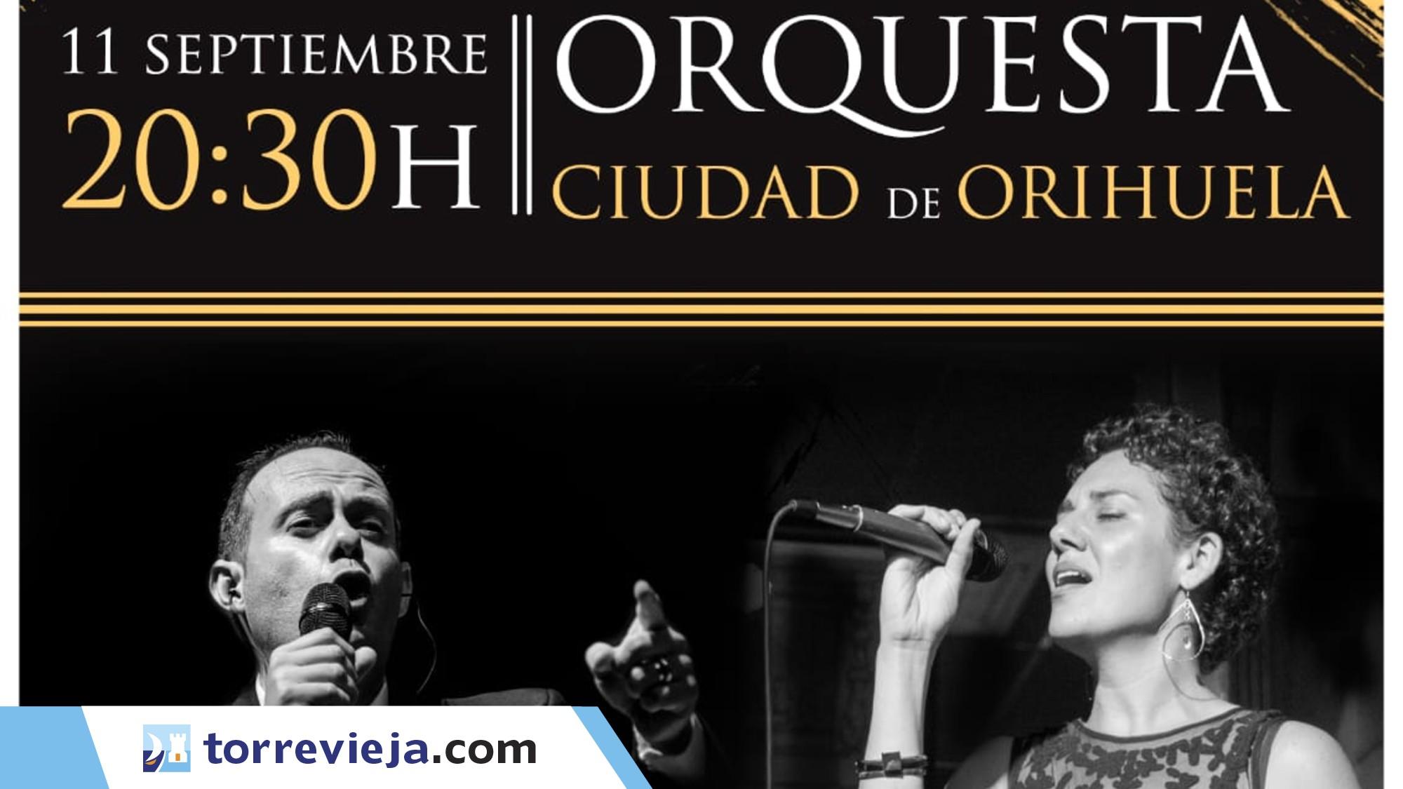 Orquesta Ciudad de Orihuela en Rojales Torreviejacom