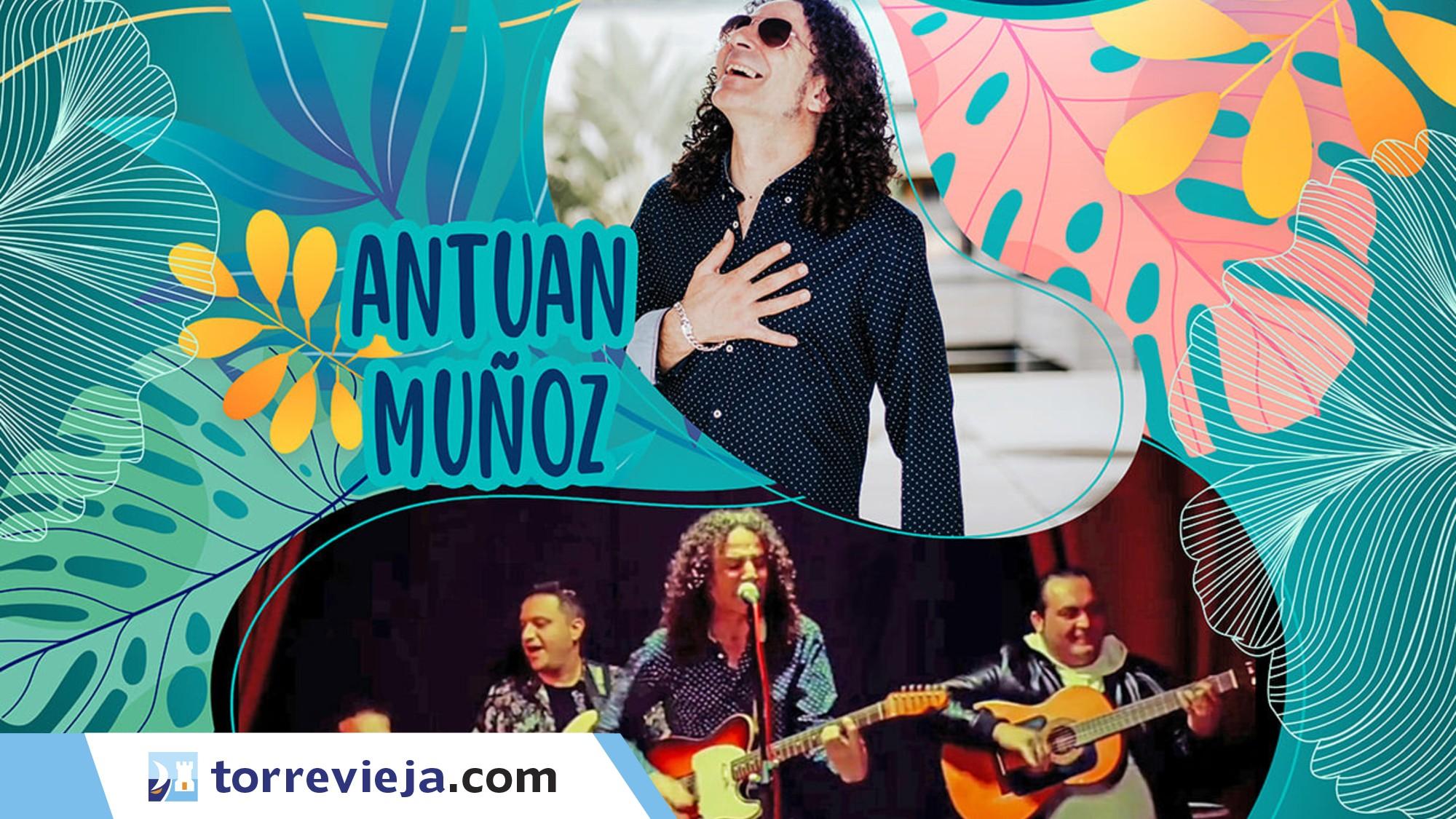 concierto flamenco Antuan Muñoz Orihuela Costa Torreviejacom agosto2021