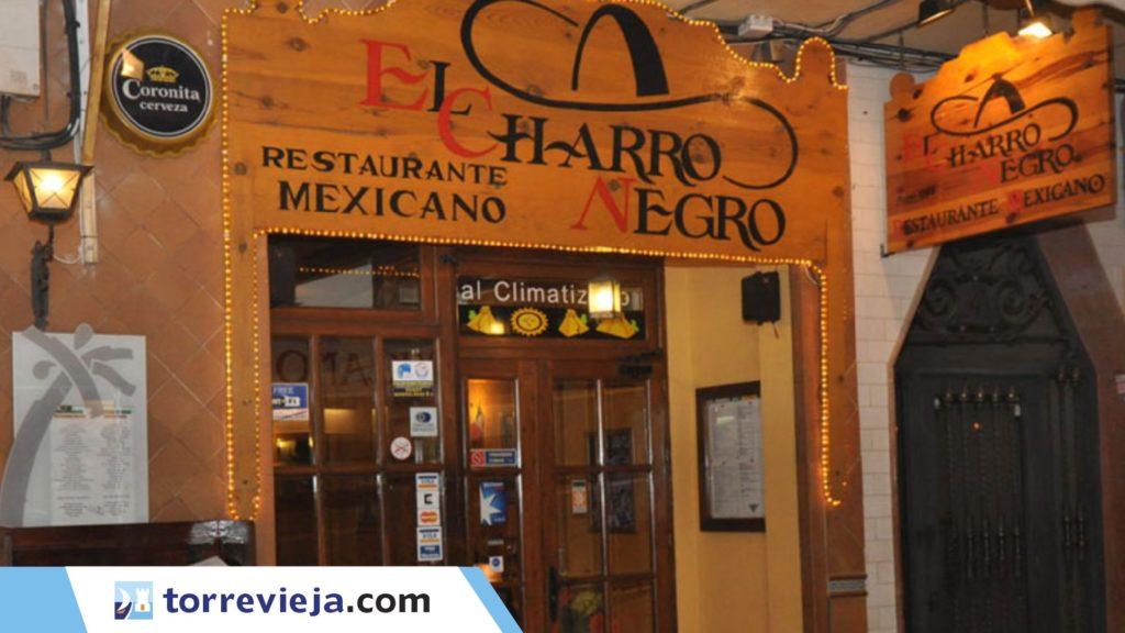 restaurante mexicano Torrevieja El charro negro