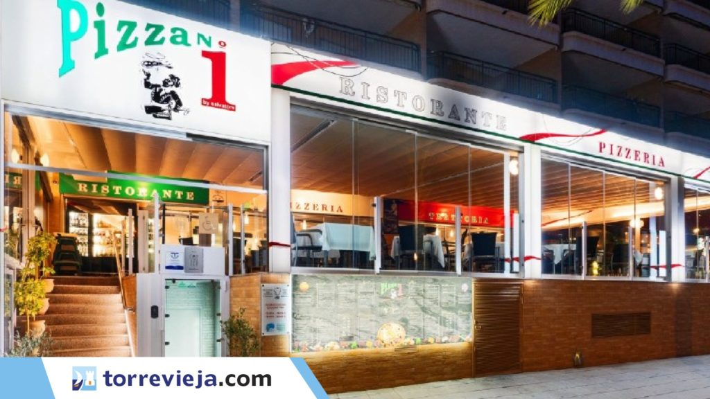 restaurante pizzeria numero 1 Torrevieja