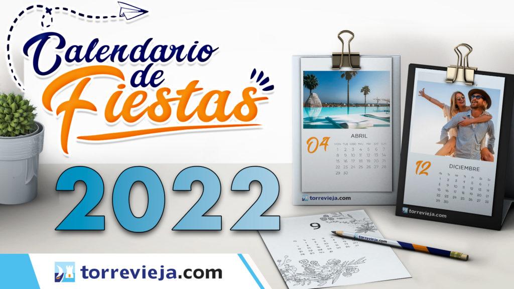 Calendario de fiestas Torrevieja 2022