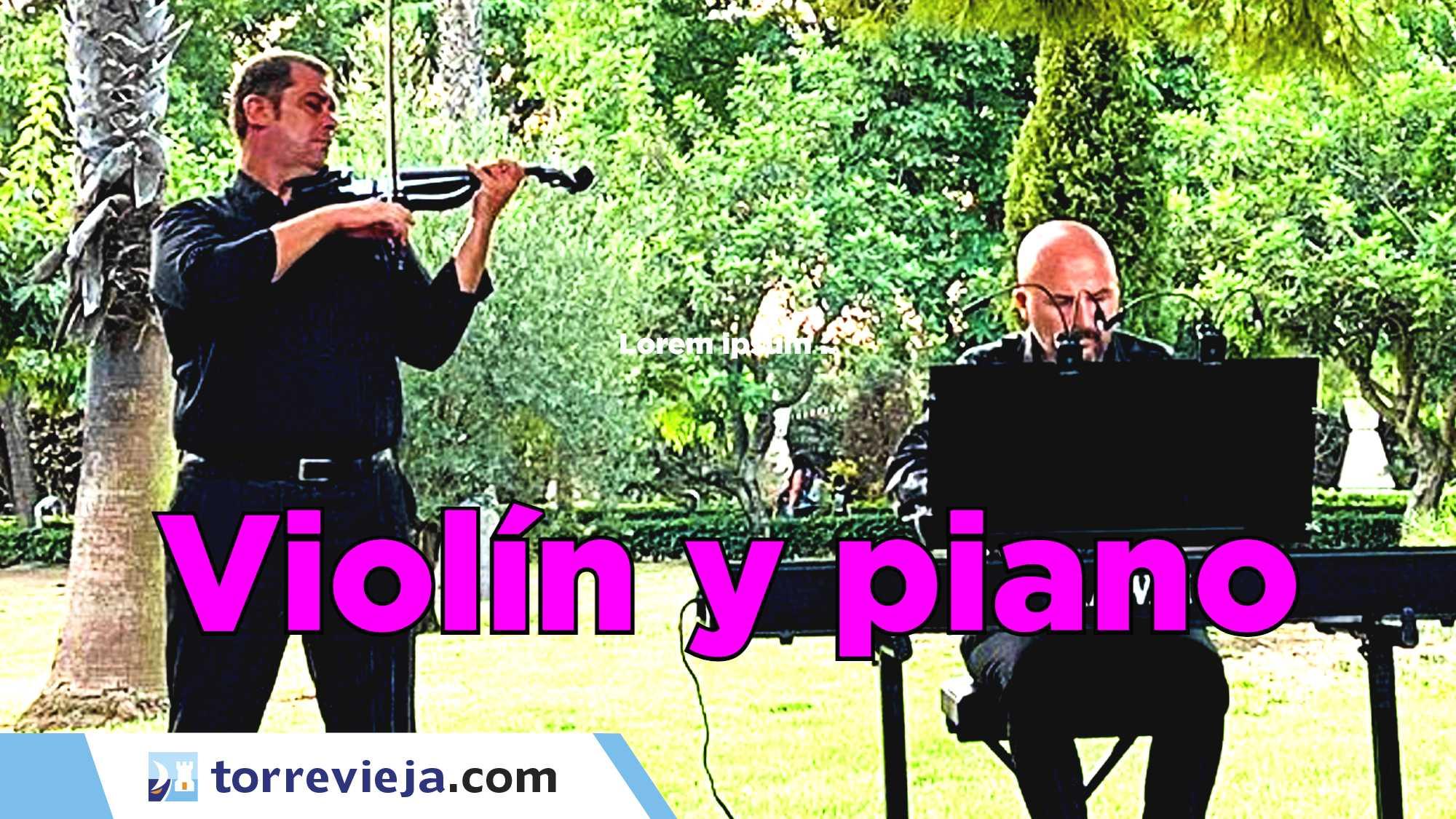 Concierto de Violín y piano torrevieja