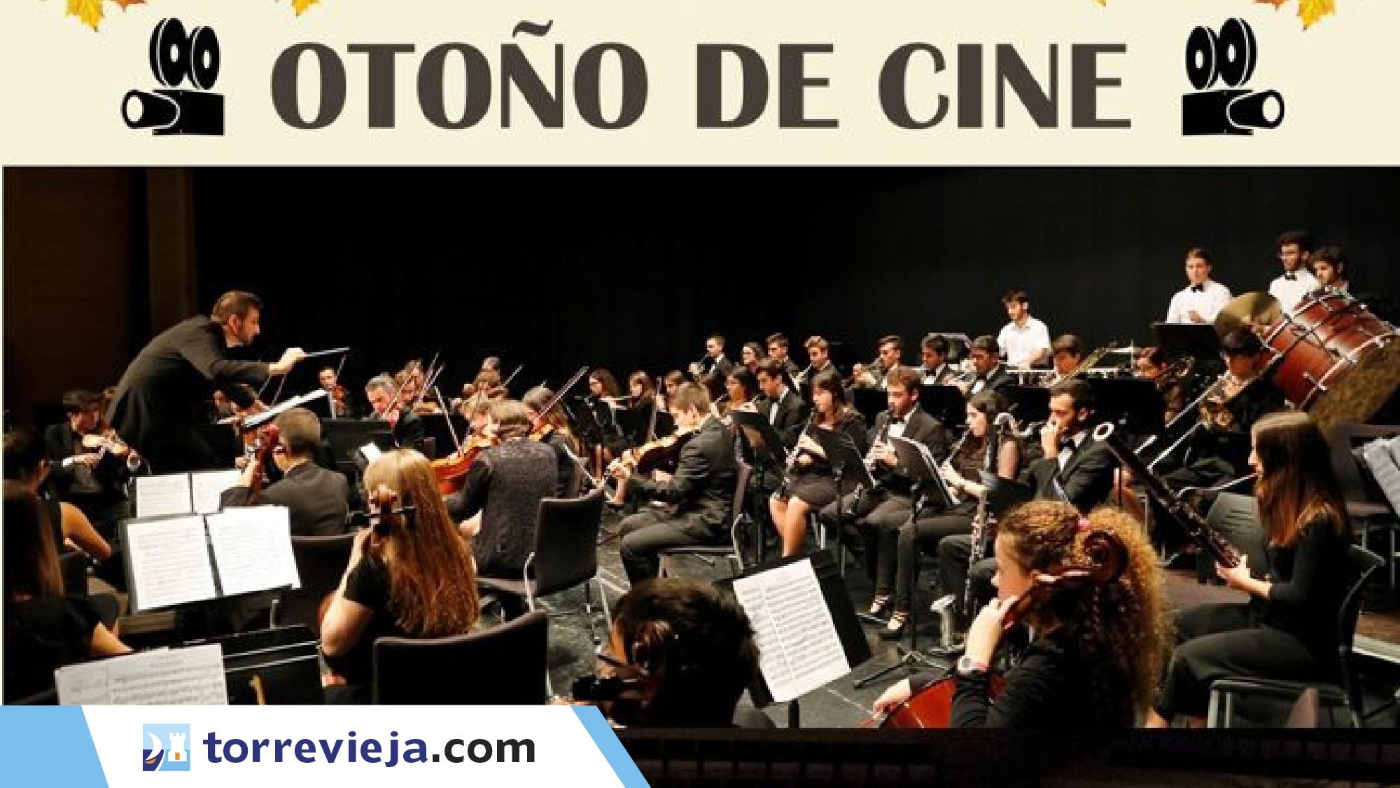 Concierto en Rojales de los grandes clásicos del cine a cargo de la Joven Orquesta Sinfónica de Torrevieja.