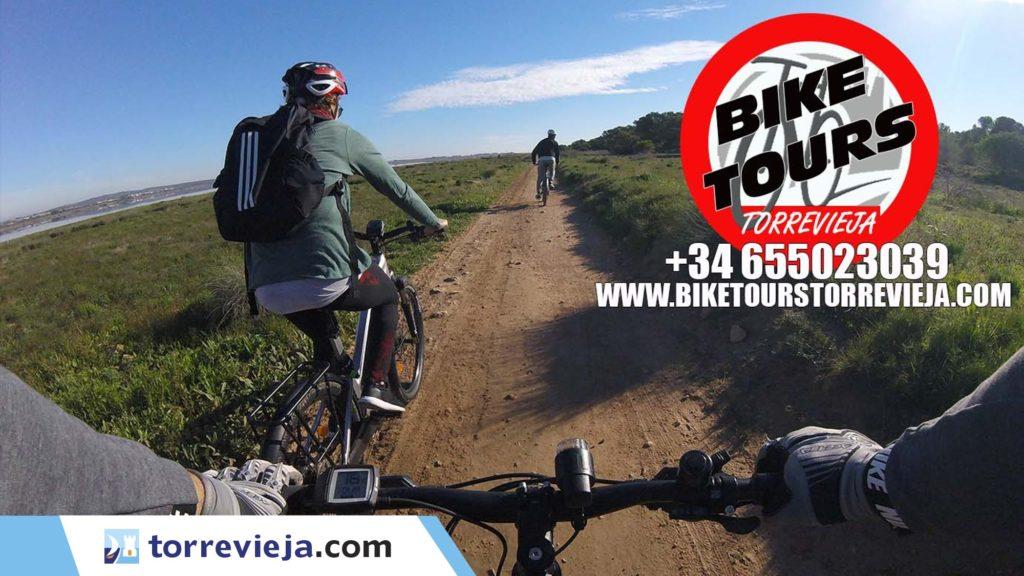 Rutas guiadas en bicicleta por Torrevieja y alrededores