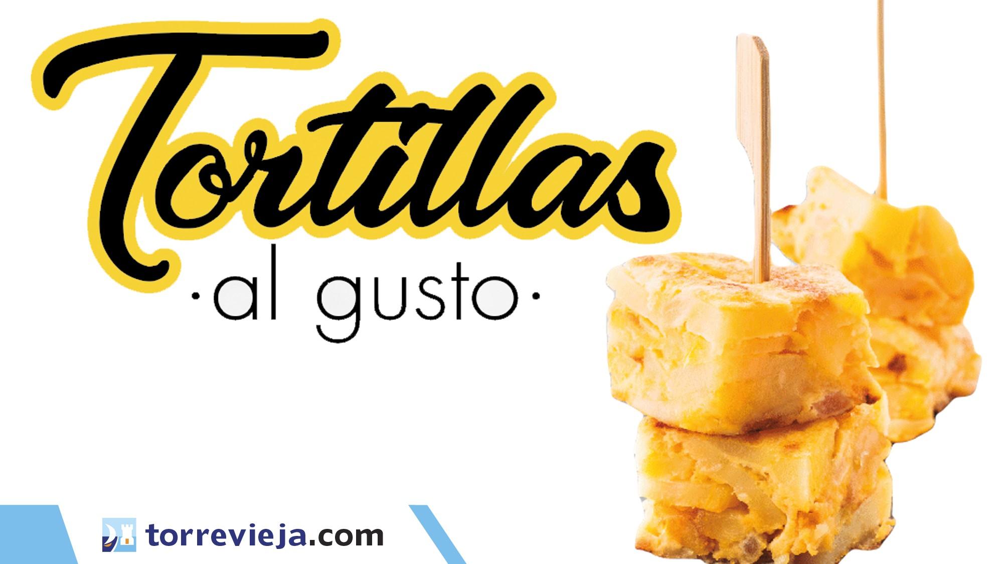 tortillas al gusto de Torrevieja 2021