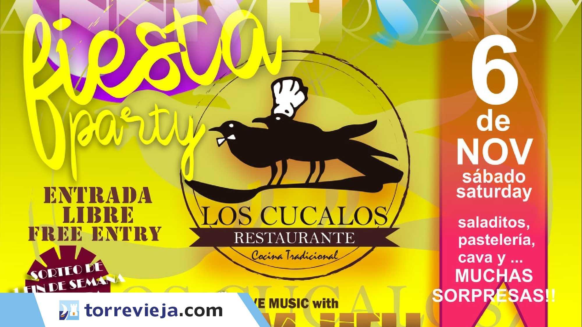 Fiesta 26 aniversario de Los Cucalos 2021 Torreviejacom